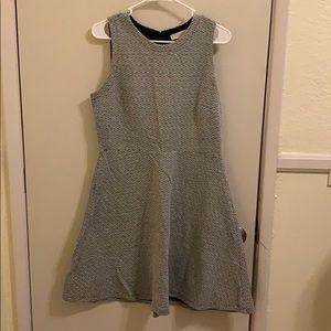 LOFT Pattern Dress 10